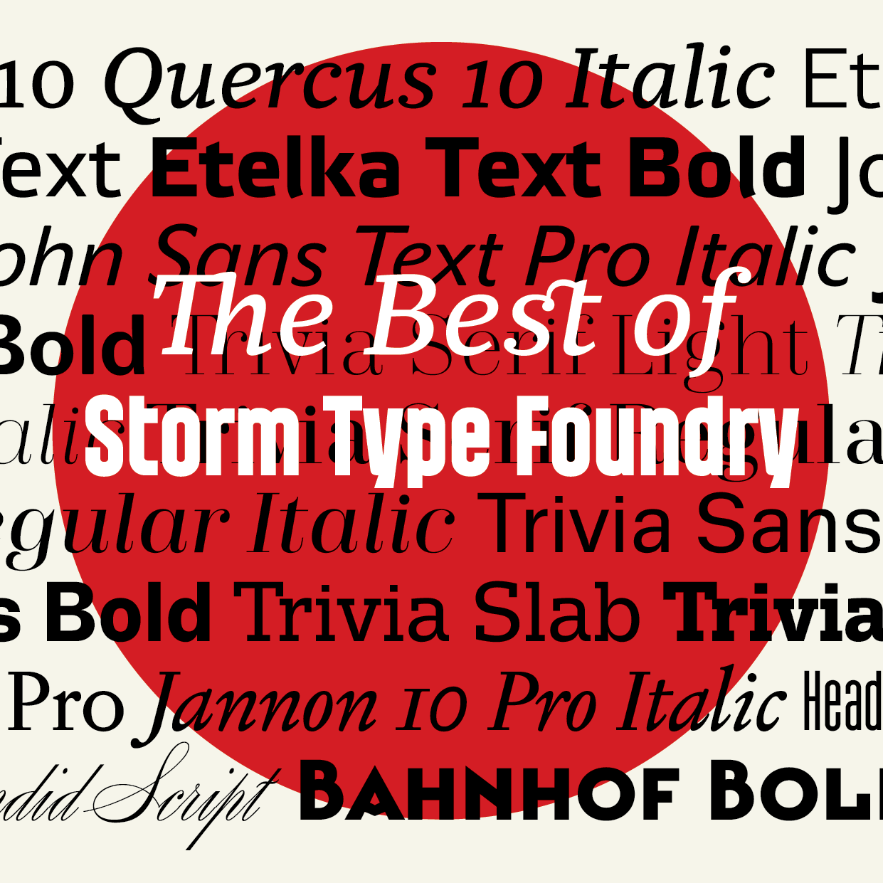 The Best of Storm Type Foundry