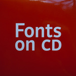 Fonts on CD